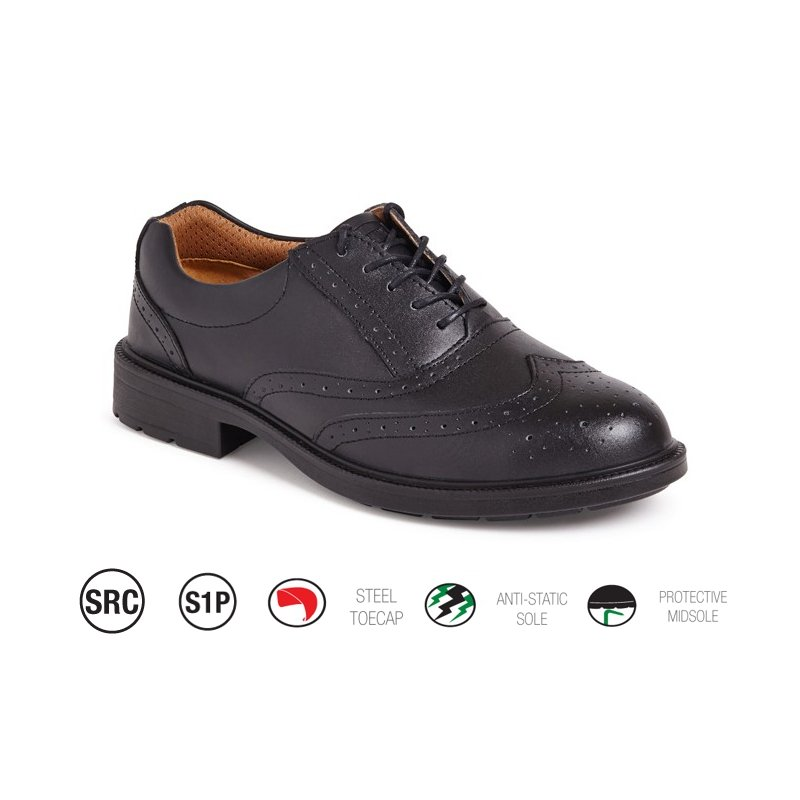 black brogue safety shoe safety shoes safety boots shoes