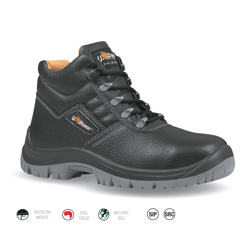 U-Power Anaconda Black Safety Boot