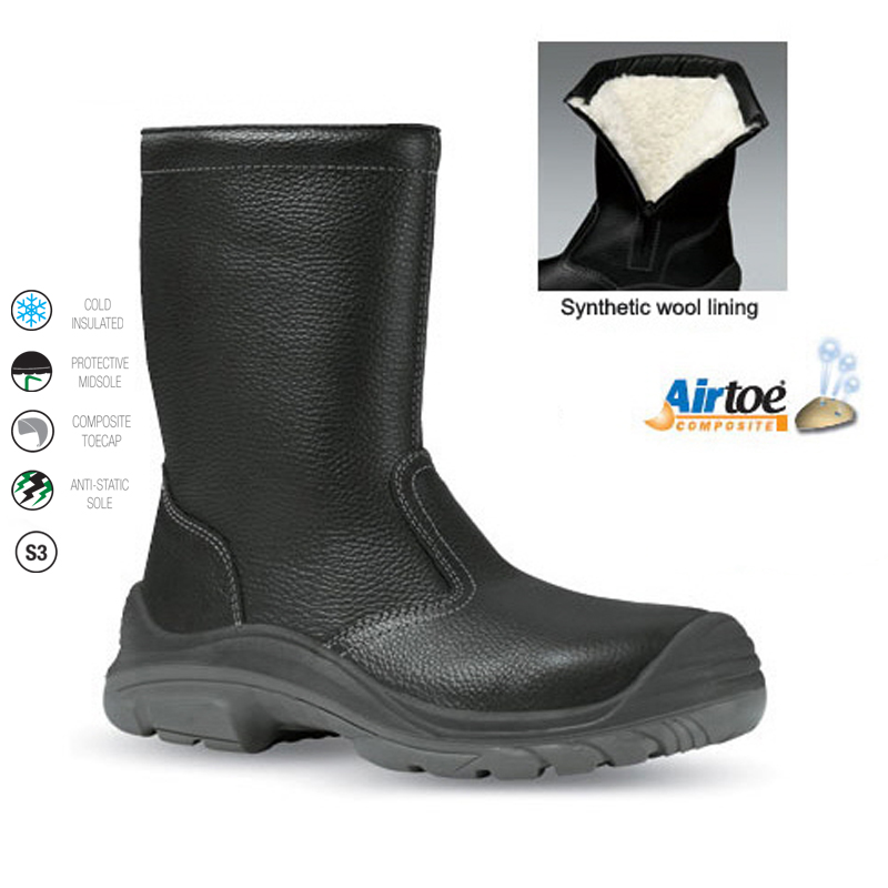 Fur Lined Freezer Boot