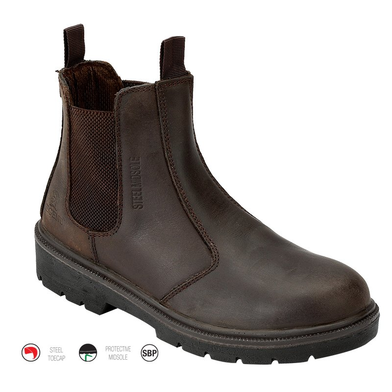 Dealer Boot Brown Size 10