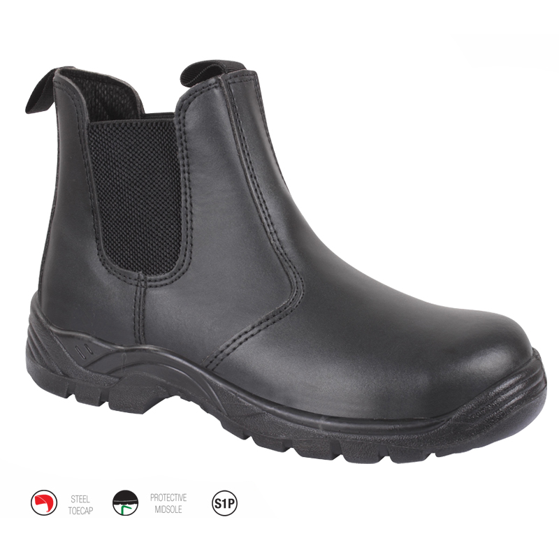 Black Dealer Boot