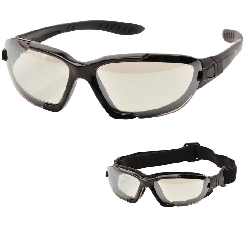 Dual Function Safety Spectacle  Clear Lens