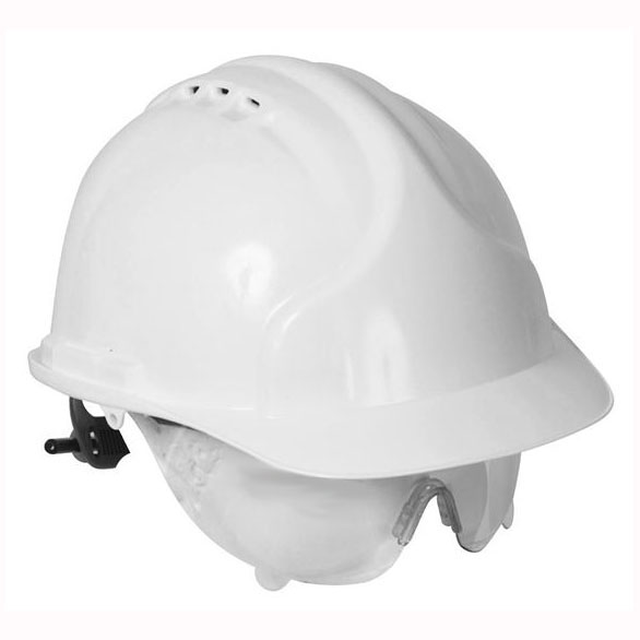 Comfort Safety Helmet with Retractaspec