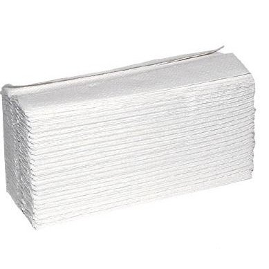 2-Ply White C-Fold Hand Towels, White, Pk 2400-2295