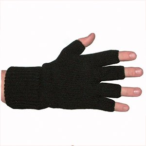 Fingerless Acrylic Gloves