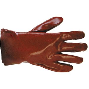PVC Chemical Gauntlett  Red  11