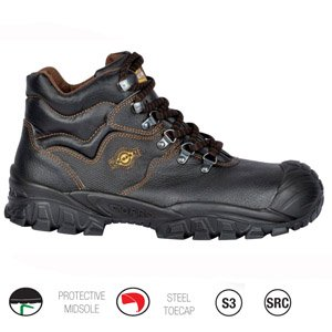 Cofra Safety Boots with Scuff Cap