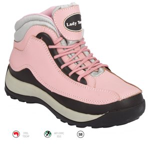 Ladies Sport Pink Trend Boot size 3