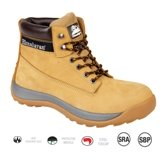 Honey Nubuck Iconic safety boot SRA/SBP size 10