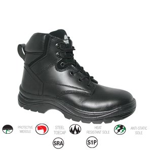 Millstone Adventure Boot Black size 7