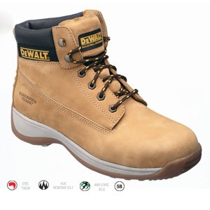 Dewalt Apprentice Honey Boot  Size  10