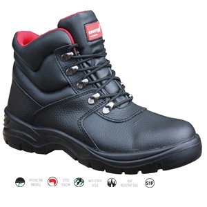 Black Energy Comfort Boot Size 10