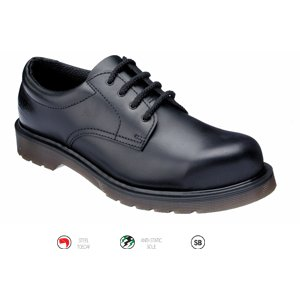 Dr Marten Safety Shoe  Black  Size  10
