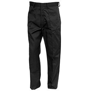 Polycotton Sewn-in Crease Trouser