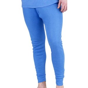 Thermal Long John Trousers, Blue size 3XL
