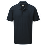 Polycotton Polo Shirt, Charcoal 5XL