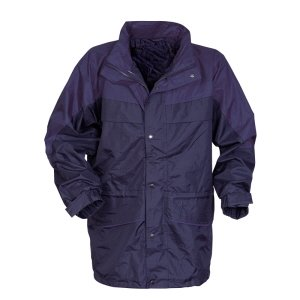 3-in-1 Waterproof Coat Navy XL