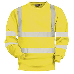 High-Vis Sweatshirt Yellow XL