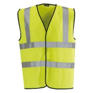 High-Visibility Waistcoat,  Yellow  L
