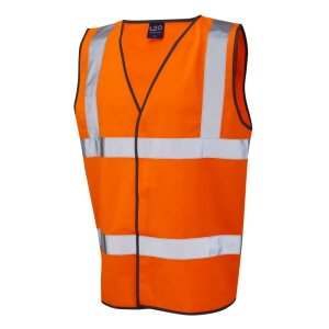High-Visibility Waistcoat Orange XL