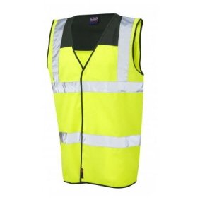 Two-Tone High-Vis Waistcoat  Yellow-Green XXL