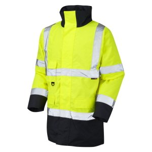 High-Vis Yellow-Navy Coat, size XXL