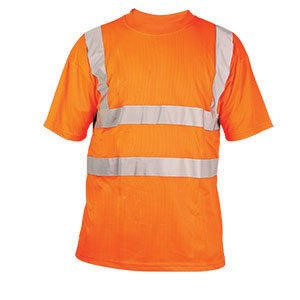 High-Vis T-Shirt  Orange  3XL