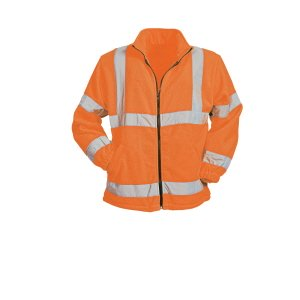 Hi- Vis Fleece Jacket  Orange  XL