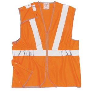 High-vis 3-part Waistcoat Orange 3XL