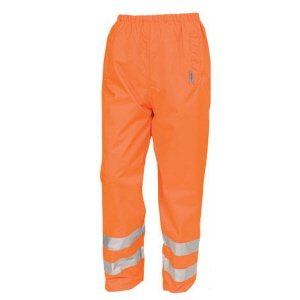 High-Vis Waterproof Trousers  Orange  3XL