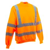 Orange High-Vis Sweatshirt 3XL (class 3 reflective)