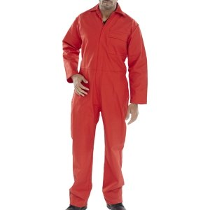 Flame Retardant Overall  Red  52