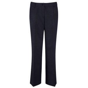Eva Executive Ladies Trousers, Charcoal 8T