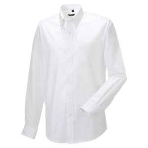 Superior Long-sleeved Oxford Shirt White 19