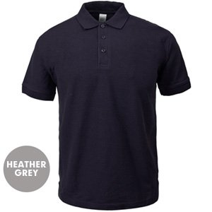 Heather Grey Polo Shirt WAS GBP3.95