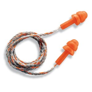 Corded Whisper Reuseable Earplug pk 50