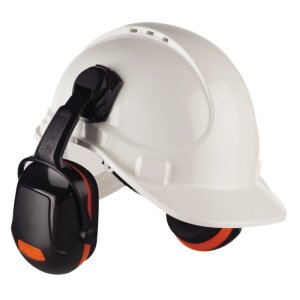 Helmet Mounted Ear Defender