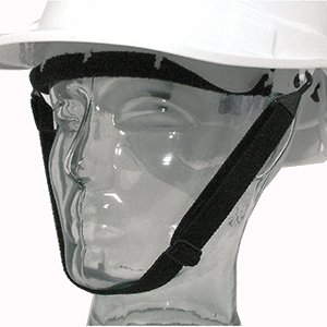Protector Elasticated Chinstrap  Black