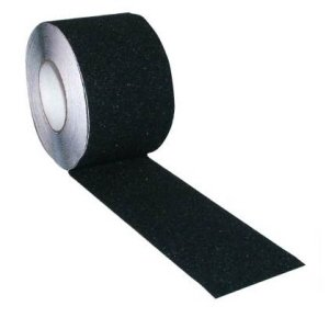 Anti-Slip Floor Marking Tape, 50mmx18m Black