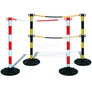 Plastic Post for Chain Barriers