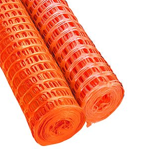 Temporary Barrier Fencing  Orange  50mx1m