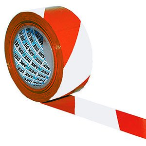 Self-Adhesive Hazard Tape  RDWH  50mmx33m