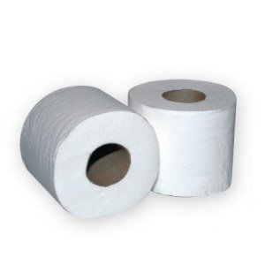 2-ply Standard Toilet Rolls  White  320 sheet pk 36