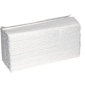 2-ply White C-Fold Hand Towels  White  pk 24002295