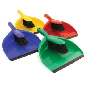 Standard Dustpan with  brush complete