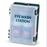 Standard Double Eyewash Station Complete with 2 eye bandages