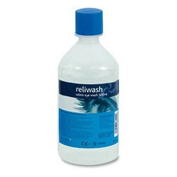 Saline Eyewash Solution    500ml