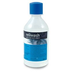 Saline Eyewash Solution 250ml