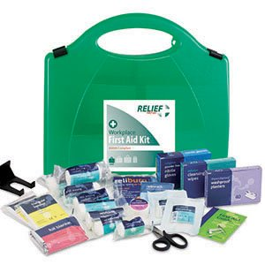 Small First Aid Kit (BS8599-1 compliant): 1-5 persons